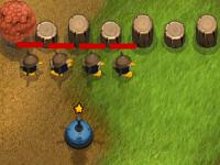 لعبة حماية البطاريق من اطلاق النار