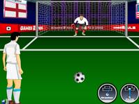 لعبة رياضية كرة قدم والضربات الجزائية