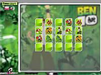 لعبة بن تن وبطاقات الصور المختلفة