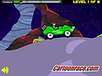 لعبة بن تن والسيارة الخضراء الجميلة