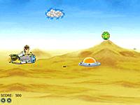 لعبة بن تن والمركبة الهوائية السريعة
