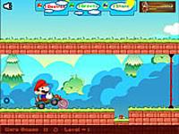 لعبة ماريو والدراجة السريعة