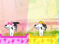لعبة والكلاب الموهوبة بالغناء
