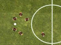 لعبة كرة قدم واحراز الاهداف الساحقة