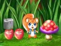 لعبة مغامرة السنجاب الصغير في الغابة
