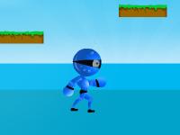 لعبة رجل الماء ومحاولة إنقاذ الأسماك البحرية