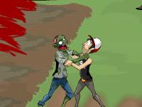 لعبة الأسيرة من وحوش الزومبي المخيفة
