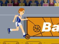 لعبة كرة سلة بنات