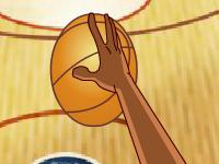 لعبة كرة سلة بالنقاط