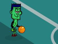 لعبة كرة سلة بحجم صغير