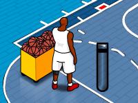 لعبة كرة سلة لعبة الاقوياء