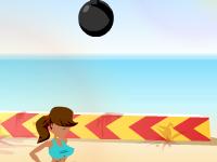 العاب كرة الطائرة الشاطئية