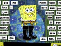 لعبة سبونج بوب ترتيب الكلمات وصناعه الجمل