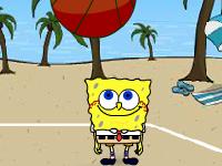لعبة كرة الطائرة وسبونج بوب الرائع