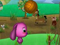 لعبة كرة الطائرة للكبار
