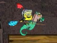 لعبة سبونج بوب المحارب والأصدقاء