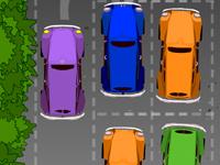 لعبة ركن السيارات الرائعة