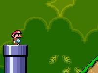لعبة مغامرة السوبر ماريو