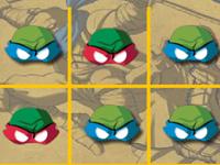 لعبة سلاحف النينجا والصور المتطابقة