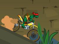 لعبة دراجة سلاحف النينجا السريعة