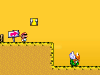 لعبة عالم السوبر ماريو