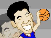 لعبة كرة السلة والضربات المرتدة