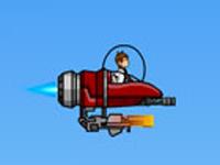 لعبة بن تن والمركبة الفضائية الجديدة
