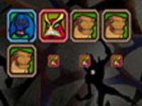 لعبة بن تن ترتيب مربعات الوحوش