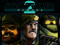 لعبة الأبطال الأقوياء القوة الضاربه