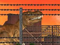 لعبة تحدي الديناصور