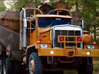 لعبة قيادة الشاحنة العملاقة