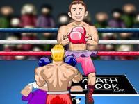 لعبة مباراة الملاكمة