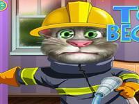 لعبة توم رجل الاطفاء