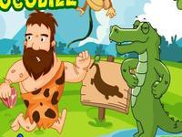 لعبة التمساح الجائع