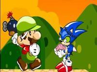 لعبة ماريو يصارع الزومبي