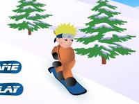 لعبة ناروتو فوق الجليد