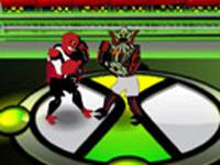 لعبة بن تن مصارعة الابطال