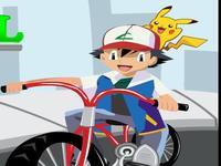 لعبة دراجة بوكي مون