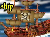 لعبة سفينة القراصنة