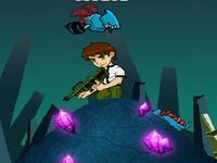لعبة بن تن والمخلوقات الفضائية