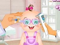 لعبة طبيب عيون الاطفال