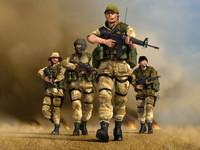لعبة الجيش المنتصر