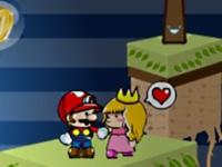 لعبة سوبر ماريو والاميرة