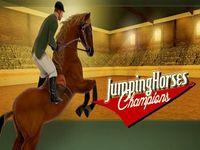 لعبة سباق القفز بالخيول