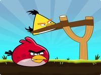 لعبة قاذفة الطيور الغاضبة