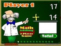 لعبة درس الرياضيات