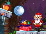لعبة بابا نويل وشجرة عيد الميلاد