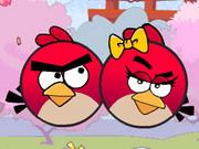 لعبة الطيور الغاضبة الرومانسية