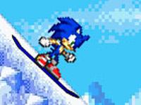 لعبة سونيك والتزلج الممتعة