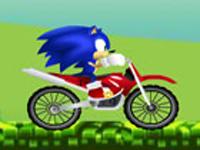 لعبة سونيك وسباق الدراجات